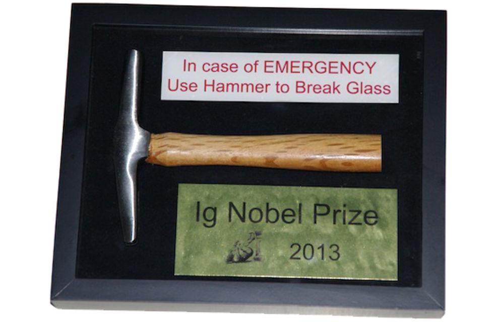 Ig Nobel Prize på europaturné