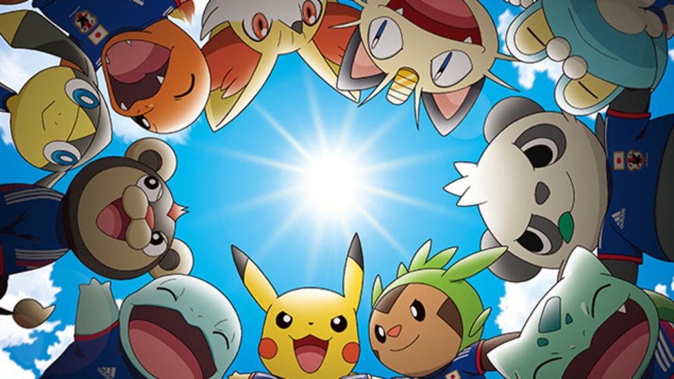 Pikachu officiell maskot för Japans VM-lag i fotboll