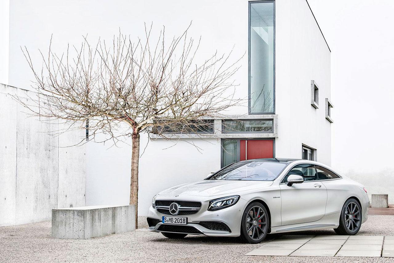 Mercedes presenterar S 63 AMG Coupé