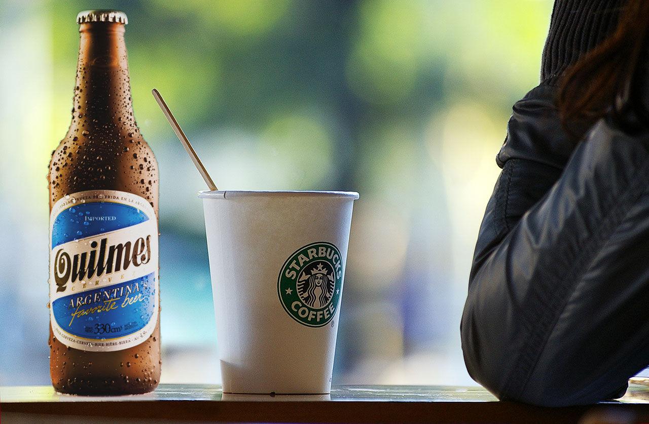 Snart kan du köpa öl på Starbucks
