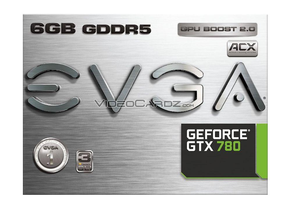 EVGA ska släppa GeForce GTX 780 med 6 GB grafikminne