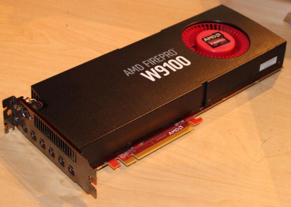 AMD lanserar FirePro W9100