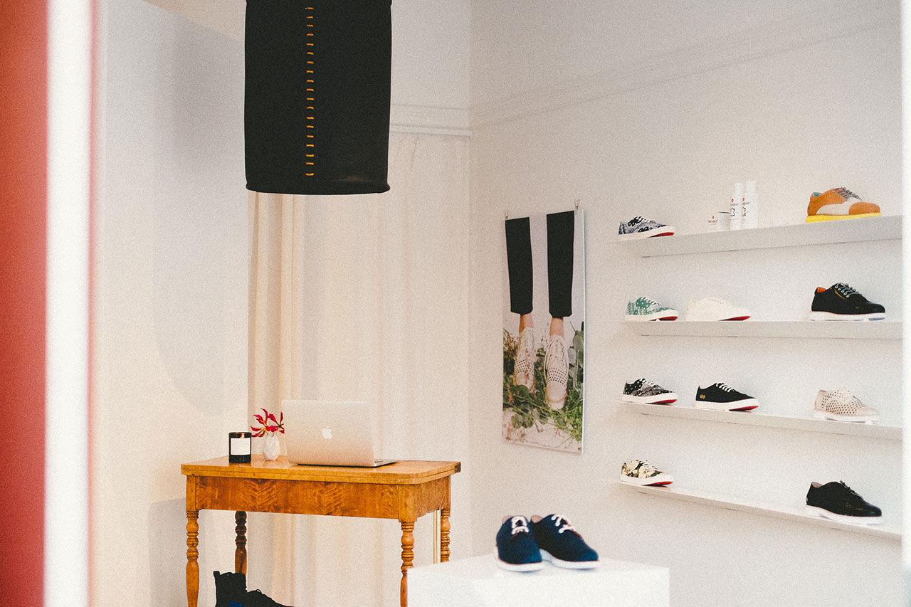 Gram öppnar skoaffär i Stockholm