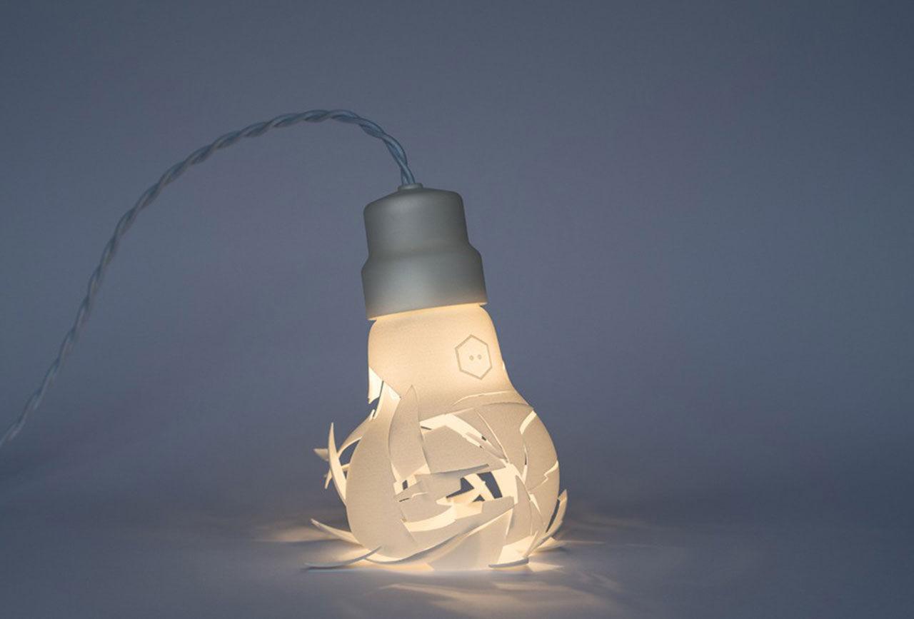 Krossade glödlampor