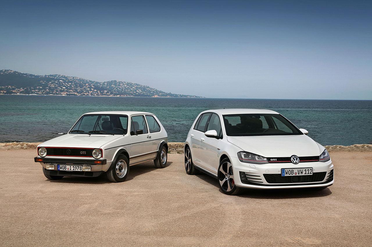 Tut i luren! Volkswagen Golf fyller 40 år!