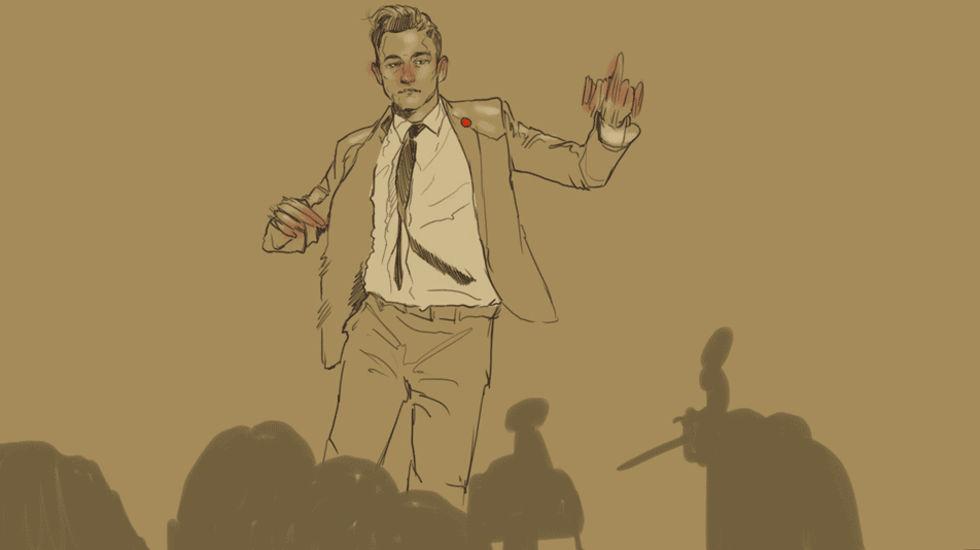 En animerad Joseph Gordon-Levitt