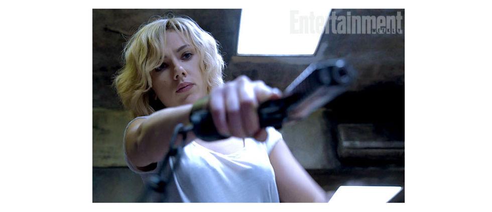 En första titt på Scarlett Johansson i Lucy