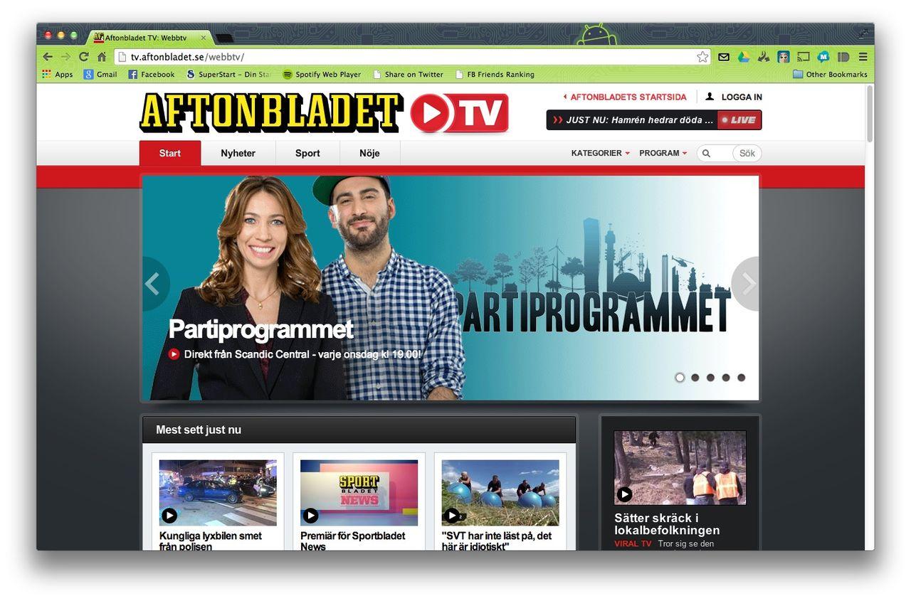 Aftonbladet får sända TV i det digitala marknätet