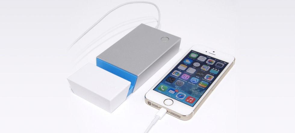 Batteripaket till iPhone med tangentbordsuttag
