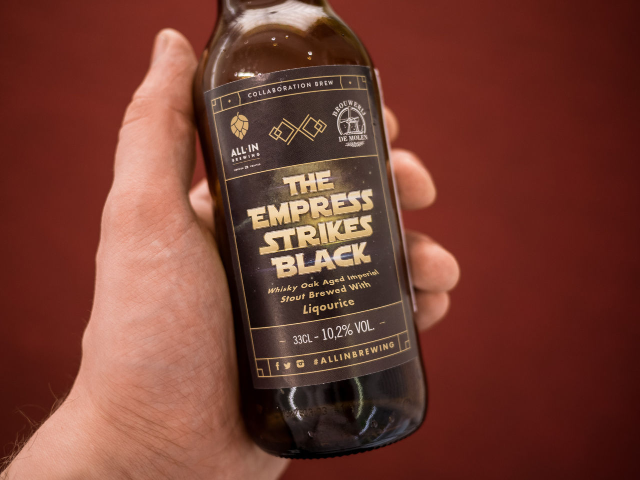 Nya mörka öl på bolaget