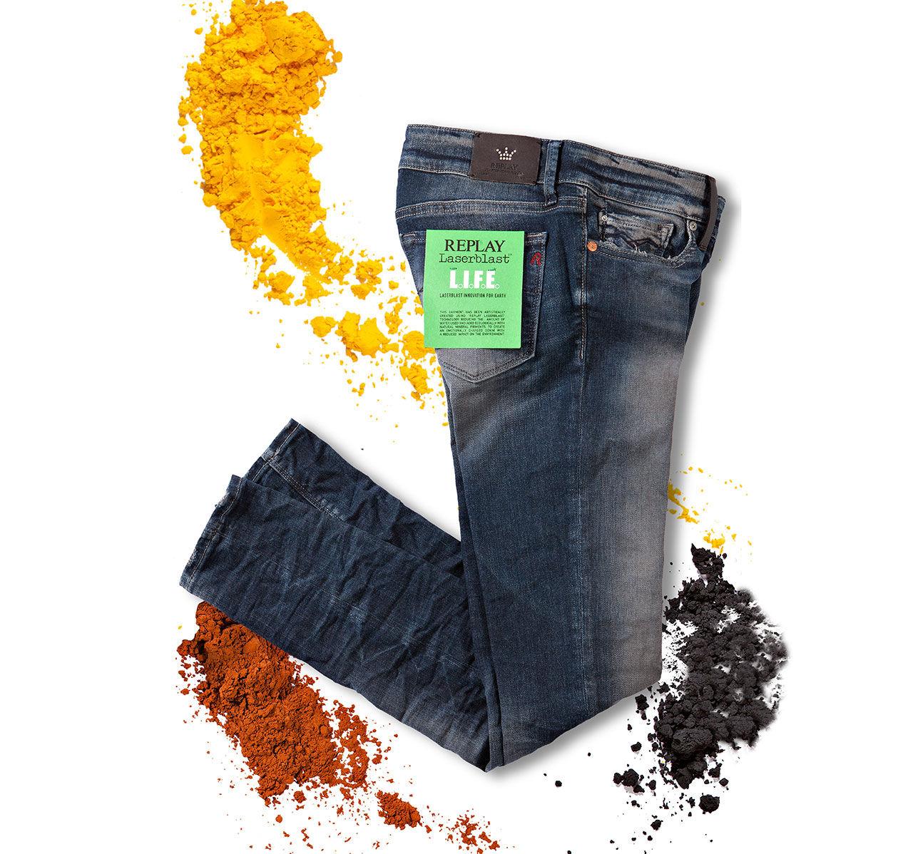 Miljövänligare jeans från Replay