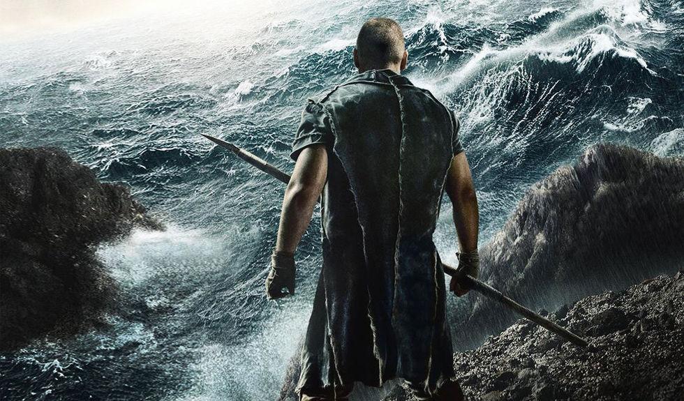 Noah stoppad av översvämning