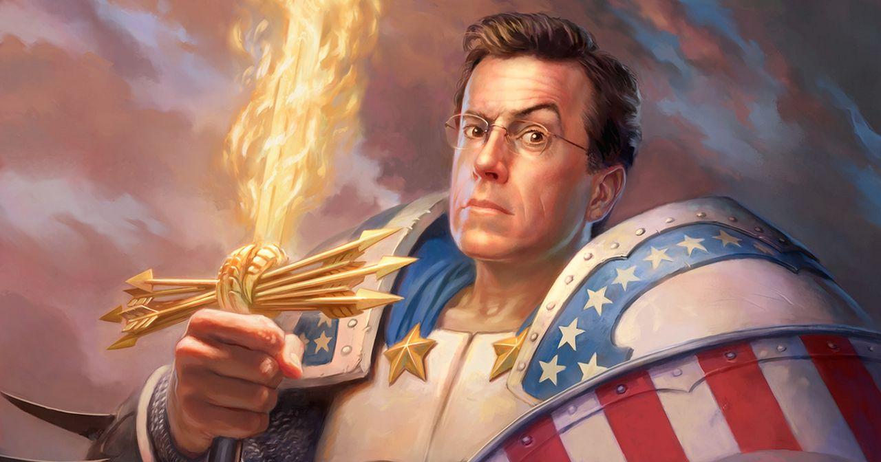 Stephen Colbert ersätter Letterman