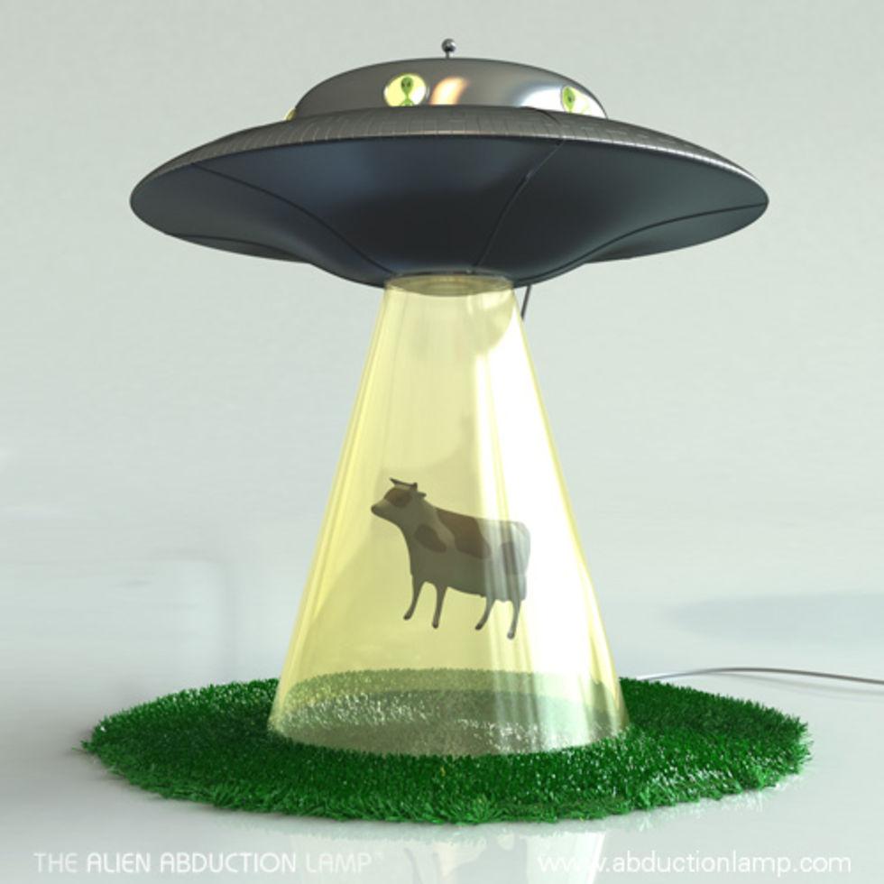 Veckans roligaste lampa - Abduction lamp