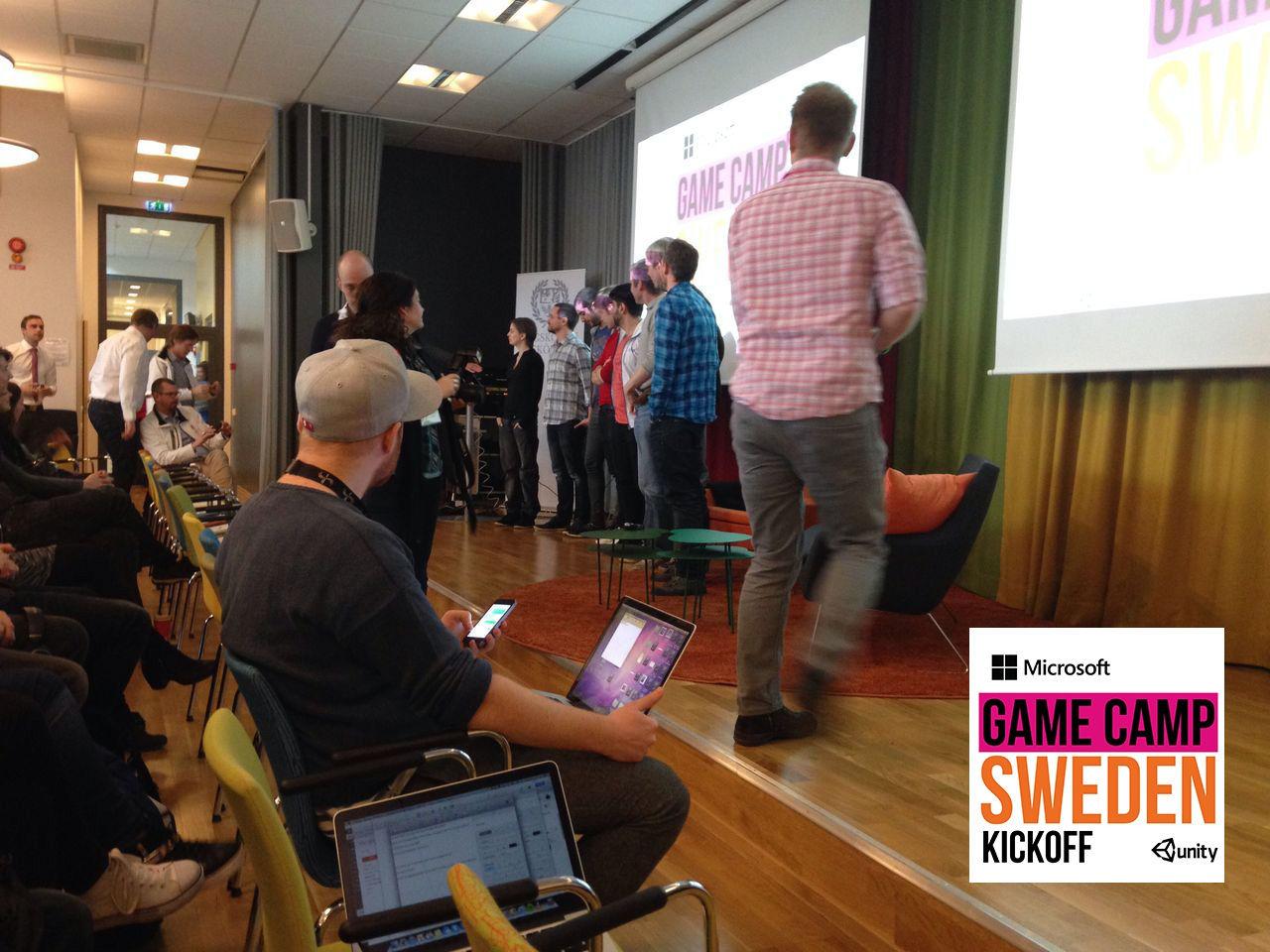 En rapport från Microsoft Game Camp Sweden