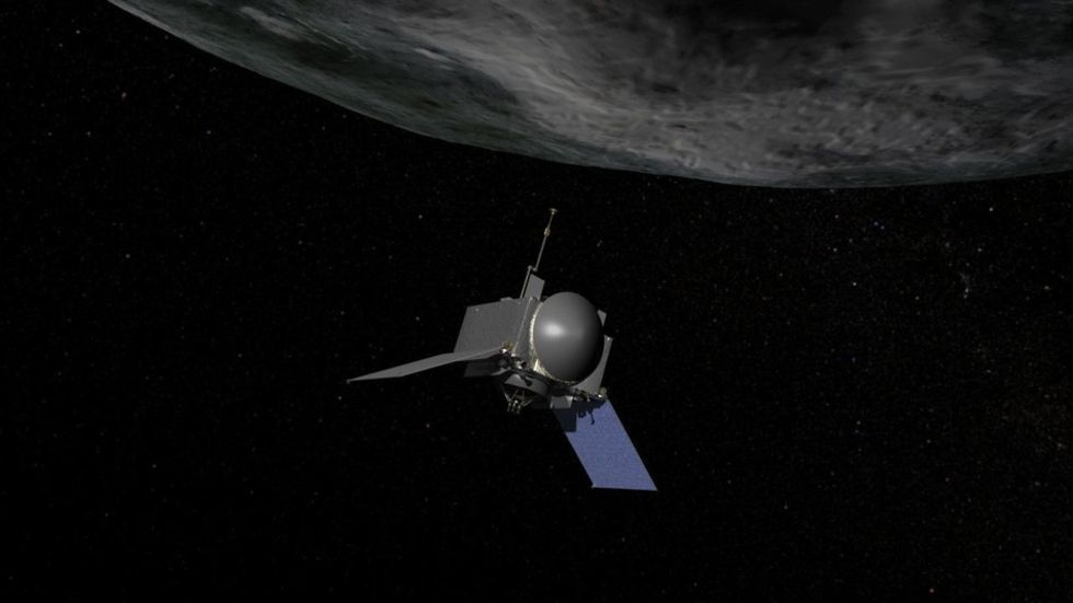 NASA bygger OSIRIS-REx som ska landa på en asteroid