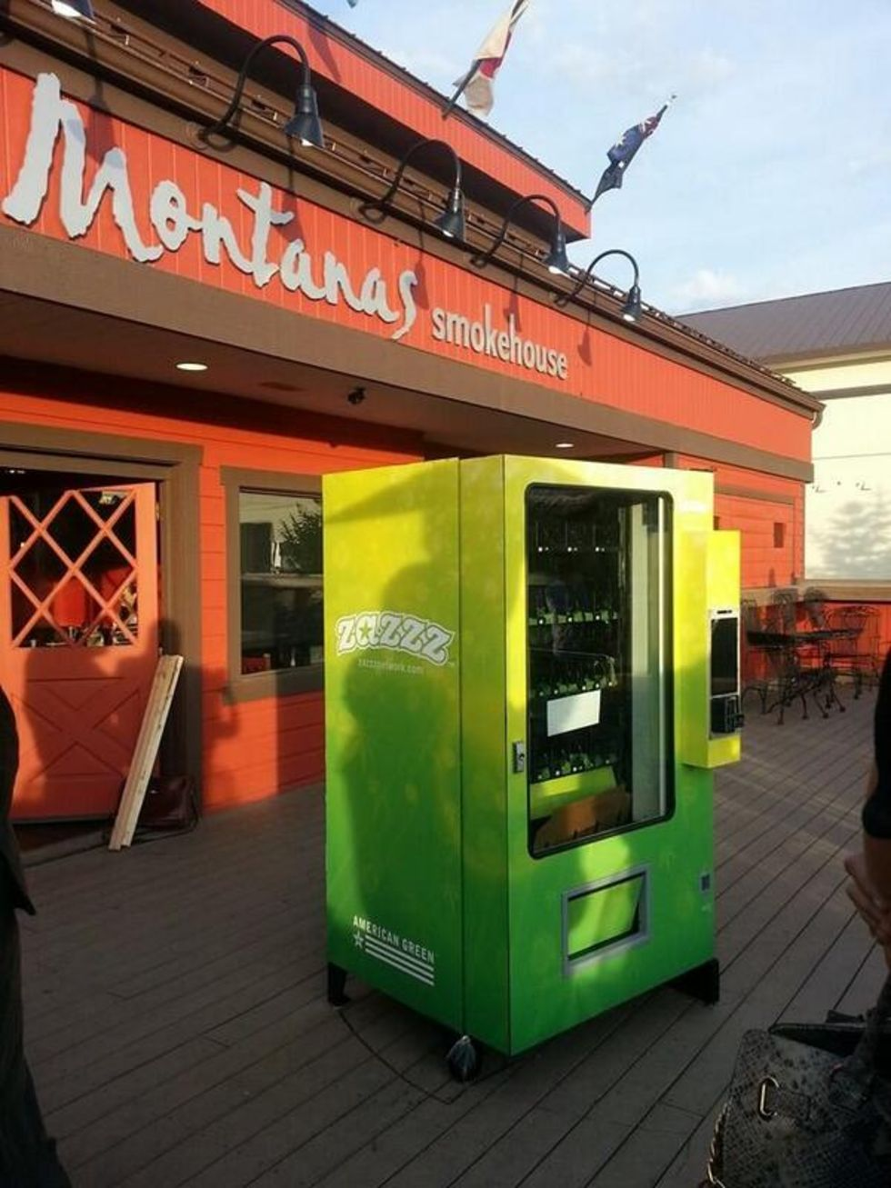 USAs första varuautomat med cannabis