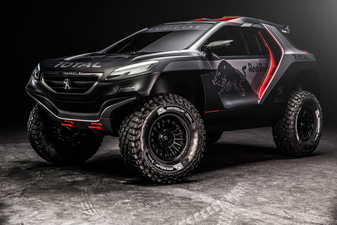 Peugeots Dakarvapen