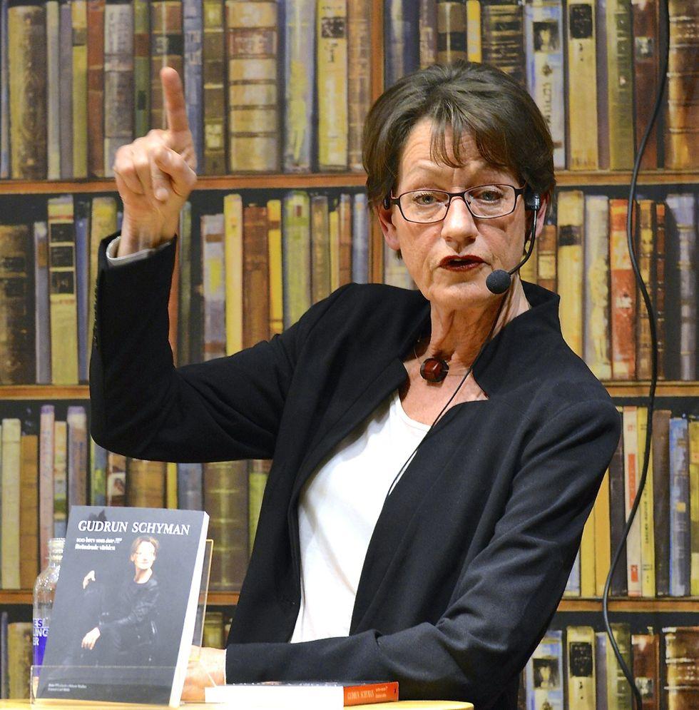 Gudrun Schyman får sin domän