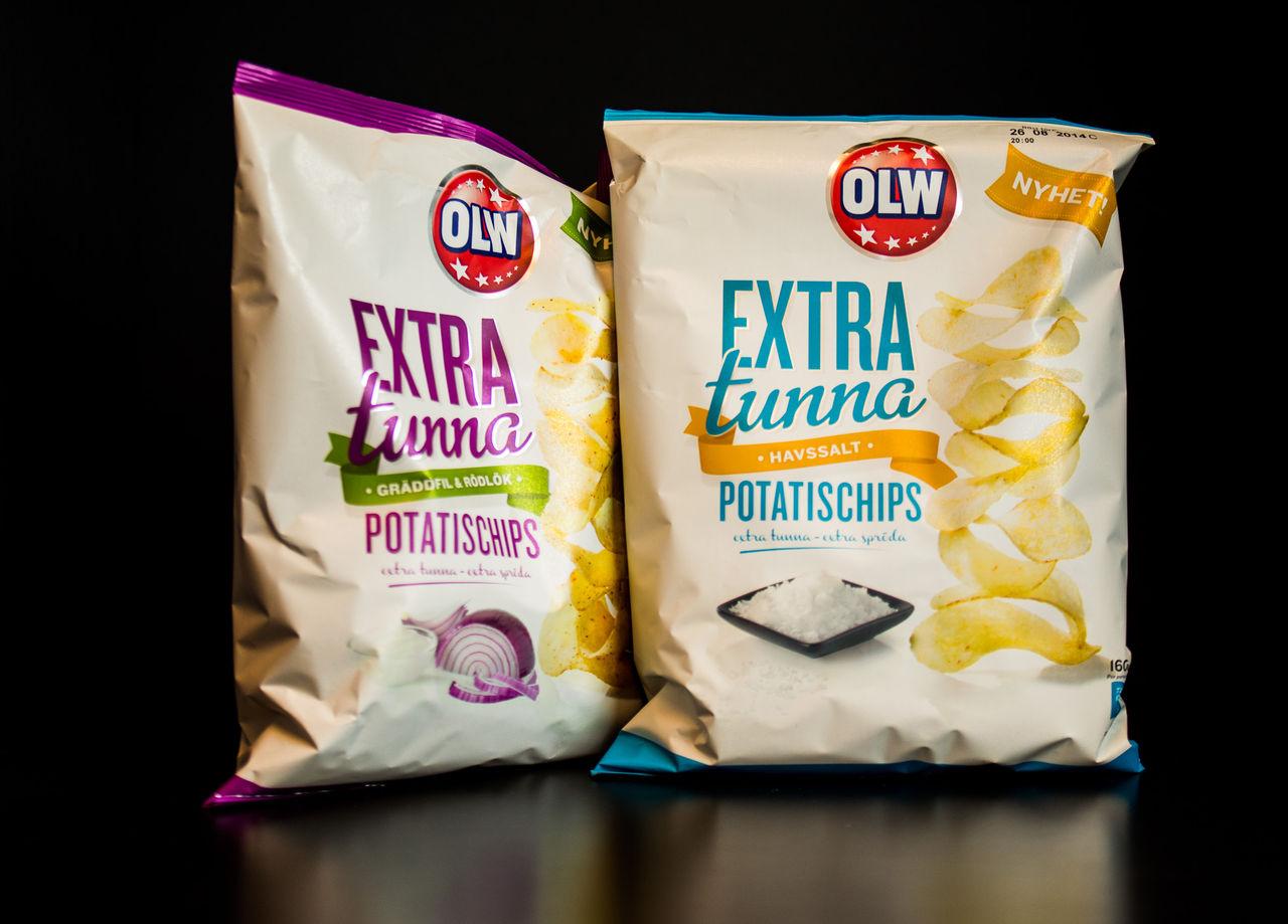 Test av extra tunna OLW-chips