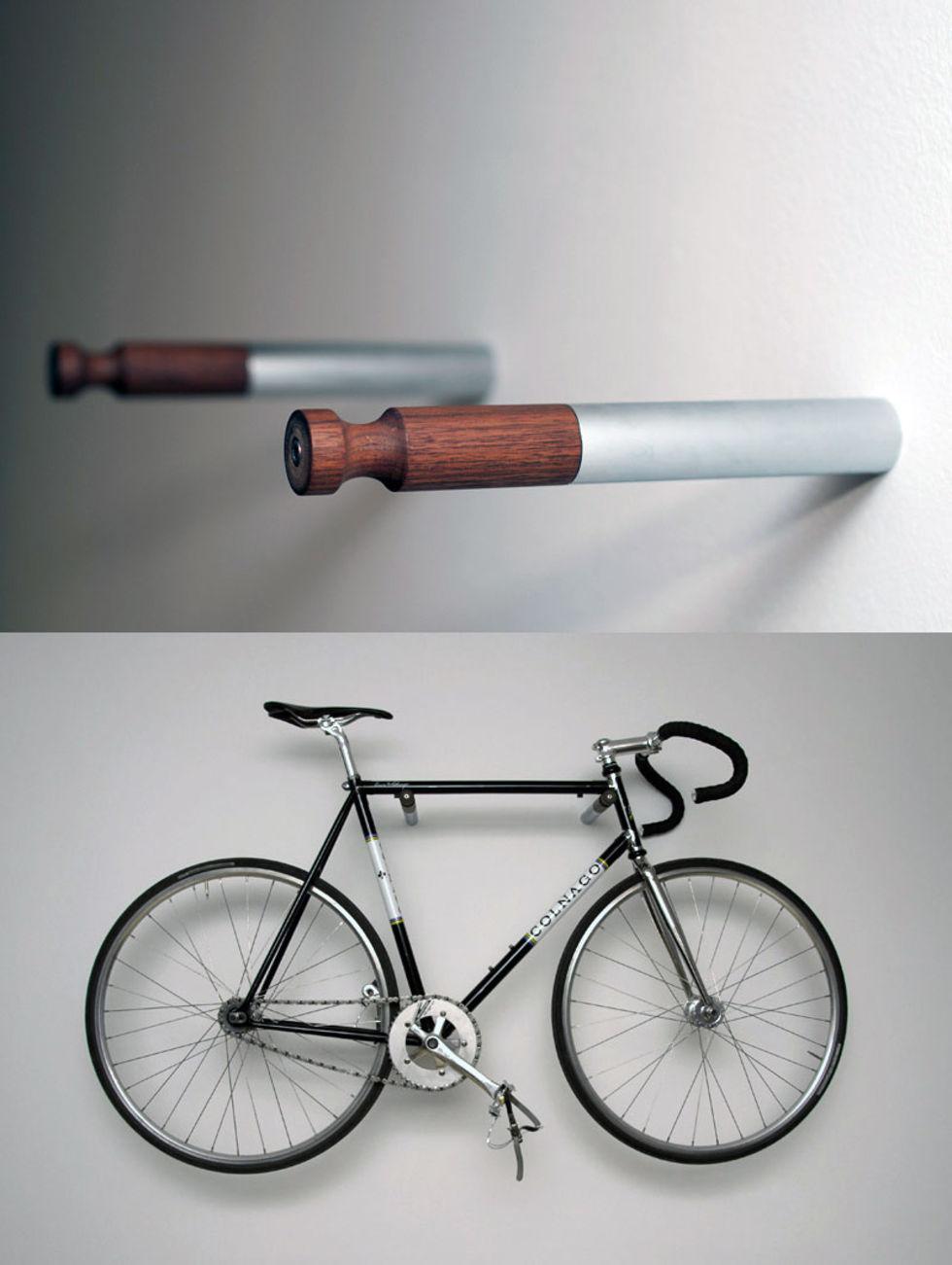 Hänga upp cykel på väggen u2013 Förhållande