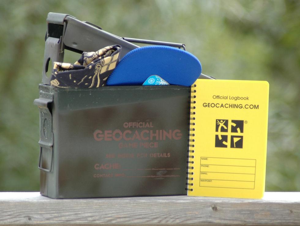 Geocaching ställer till problem för polisen