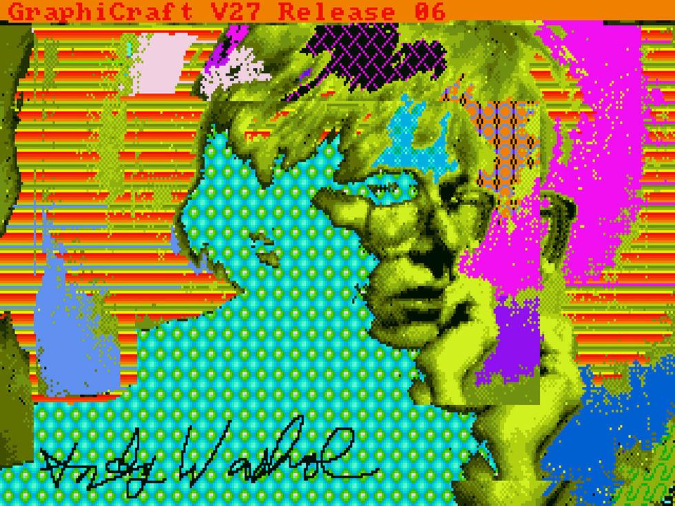 Bortglömd Andy Warhol-konst hittad på hans gamla Amiga