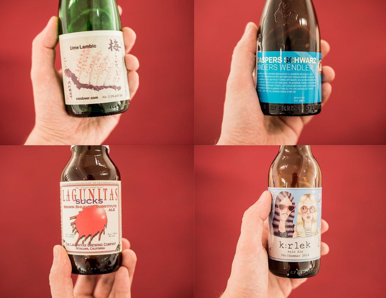 Mumsigt öl som släpps på fredag