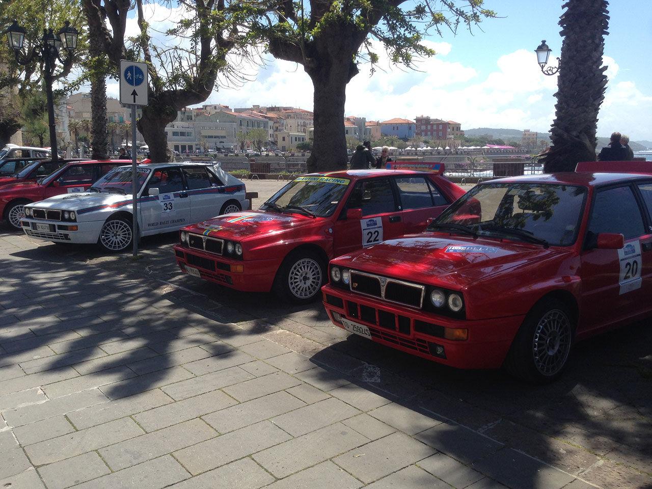 Lancia Delta Integrale-fest på Sardinien