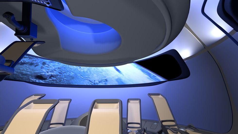 Så här ska insidan av Boeings rymdfarkost se ut