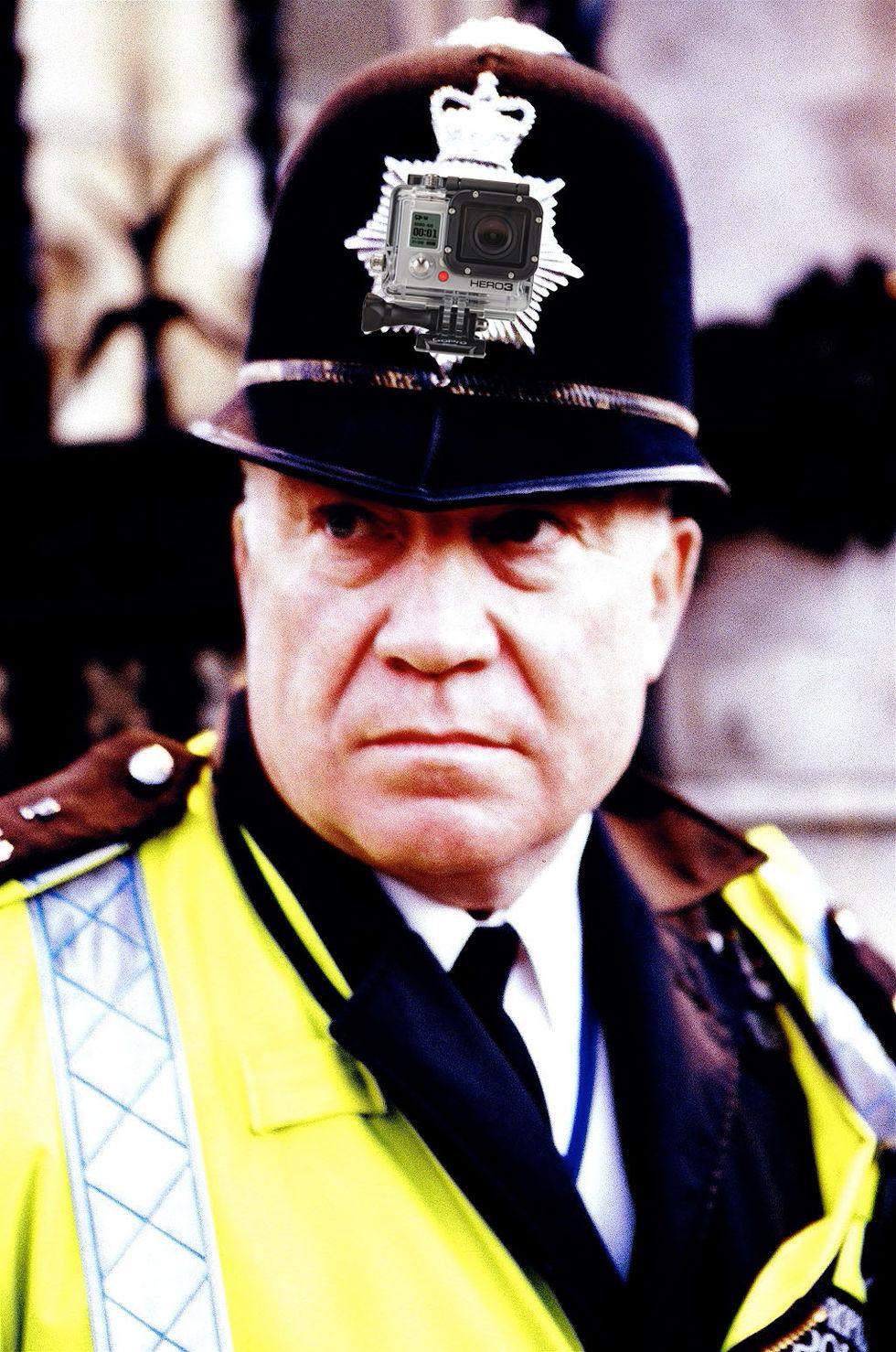 Londonpolisen utrustas med kameror