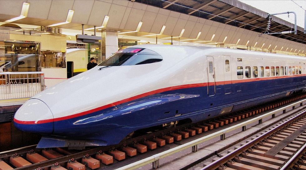 Kina vill bygga en järnväg till USA