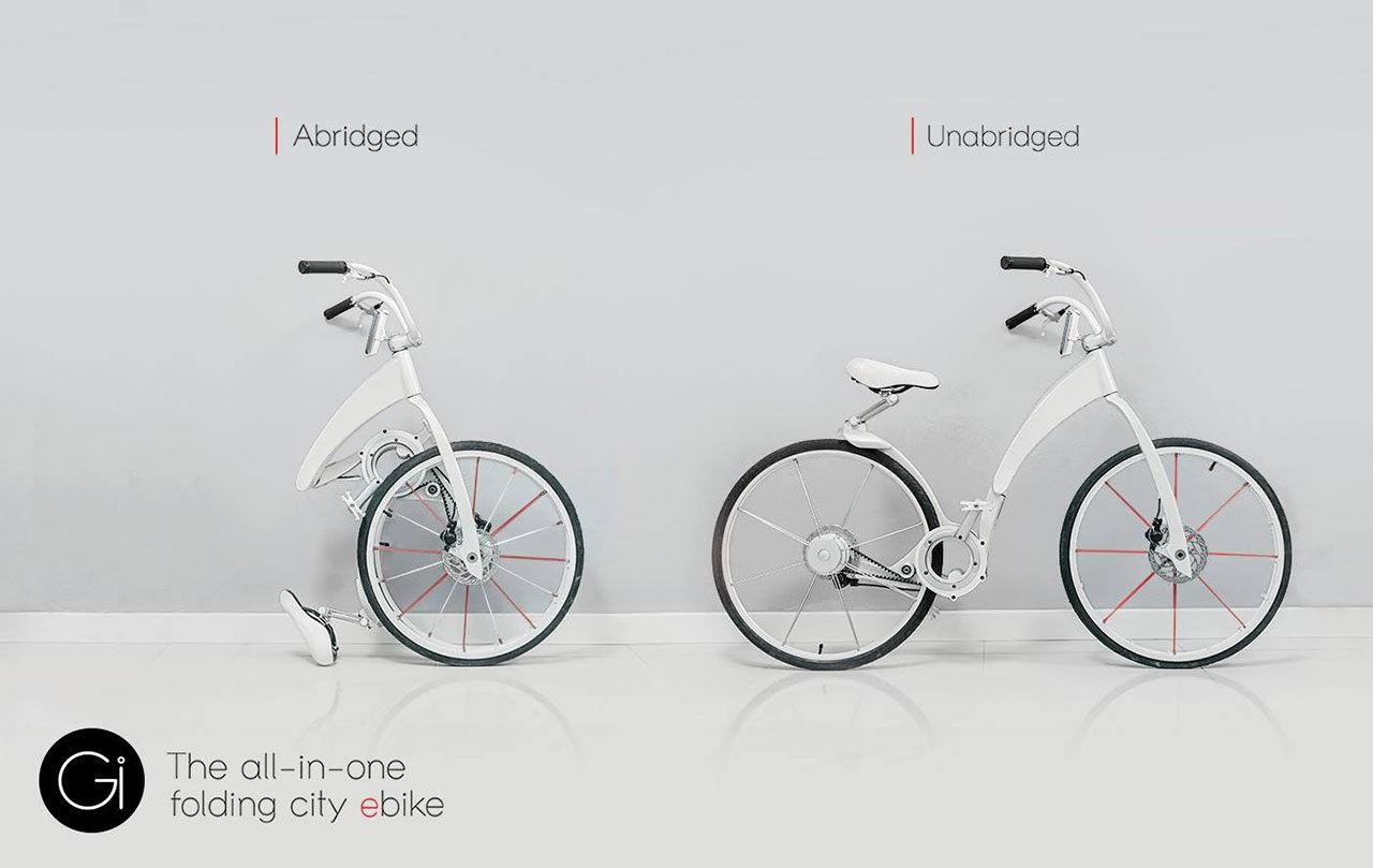 Gi-Bike - Eldriven och ihopfällbar