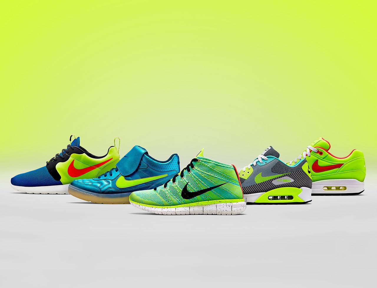 Nike-kollektion inspirerad av fotbollen