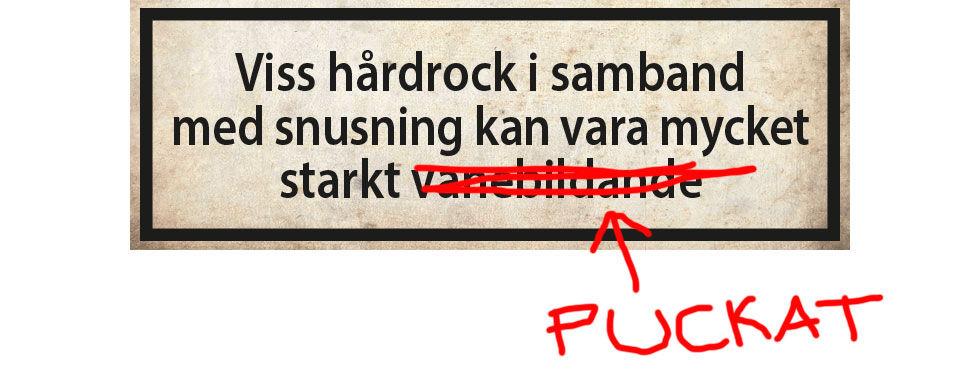 Black Ingvars-snus anmäls till KO för spam