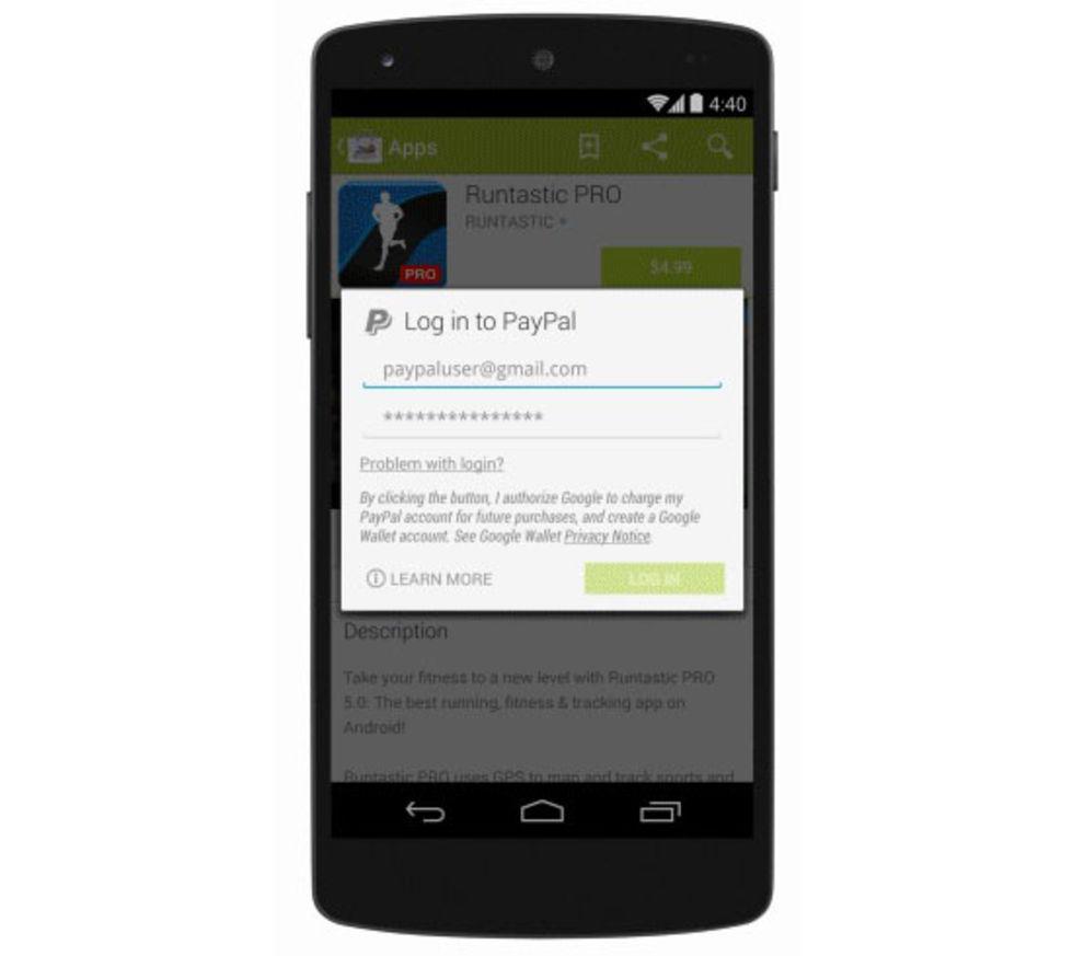 Google Play stödjer nu PayPal