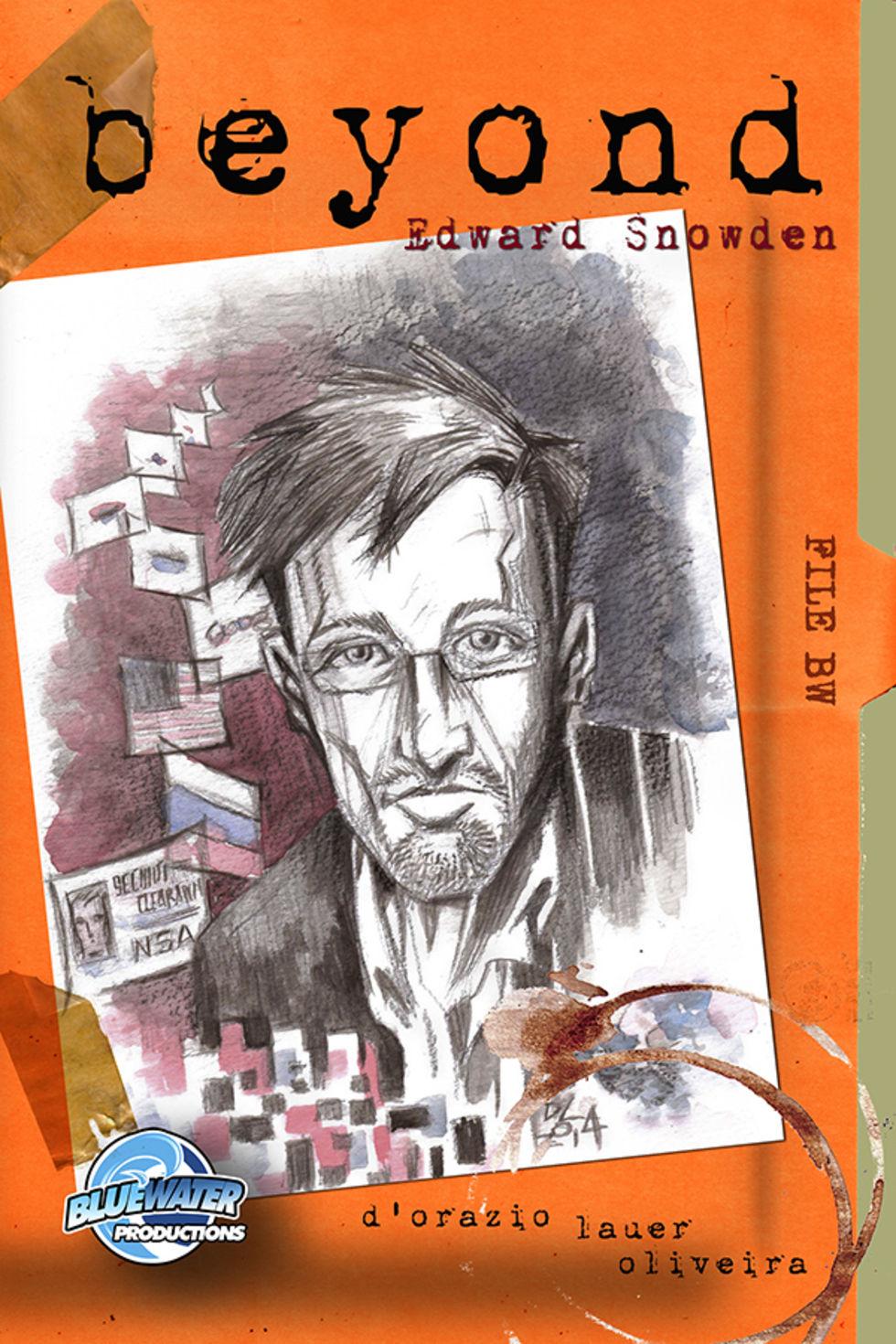 Edward Snowden blir serietidning