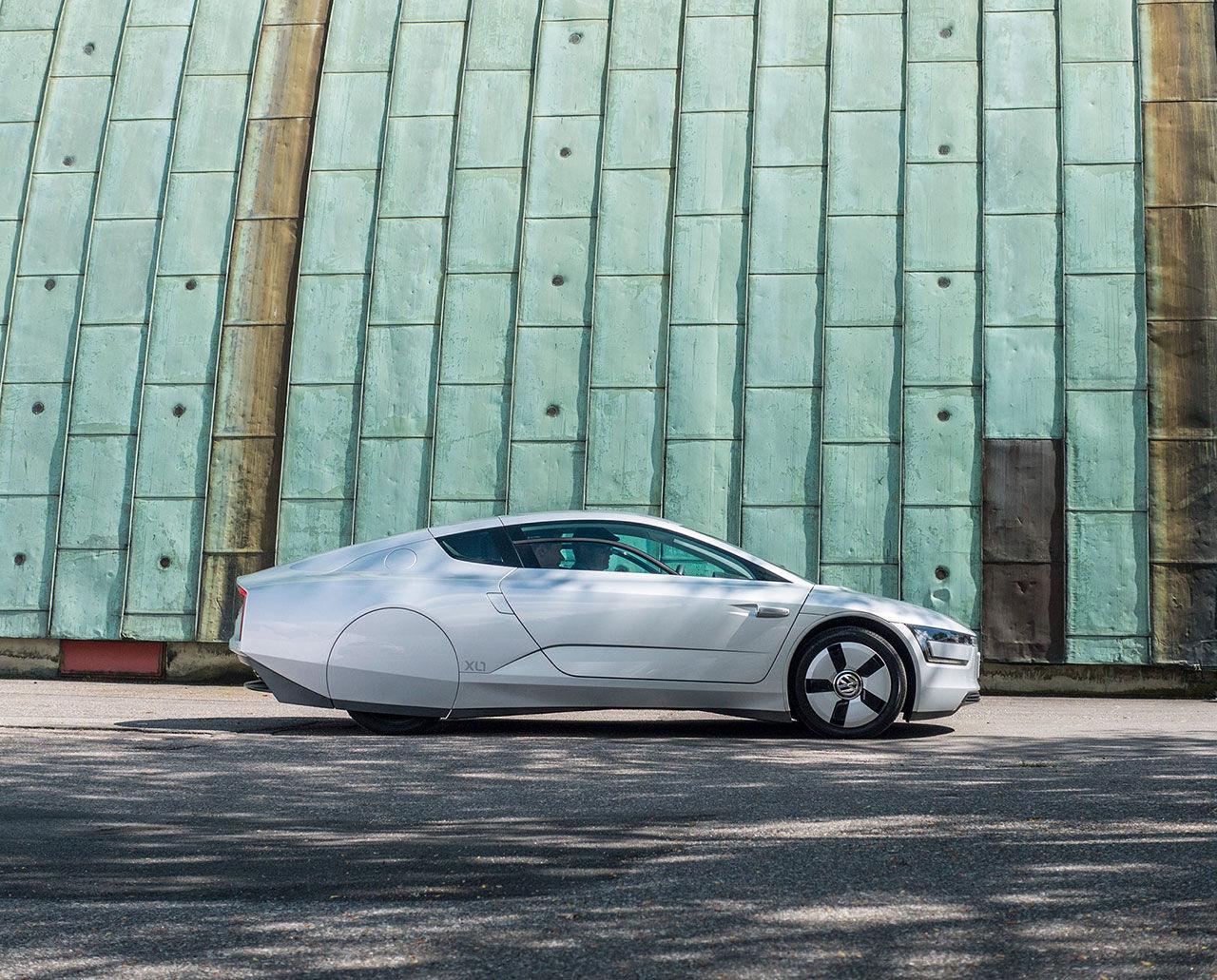 Vi har provkört Volkswagen XL1