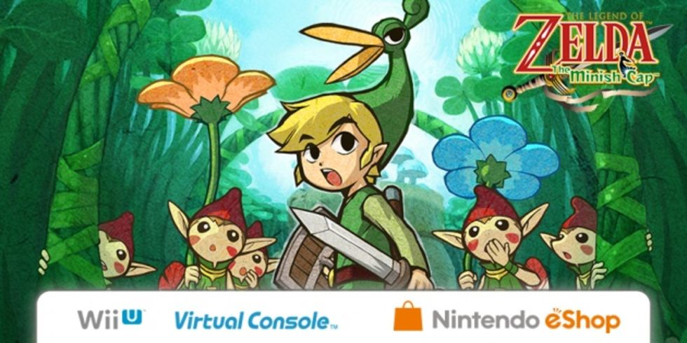 The Legend of Zelda: Minish Cap kommer till Wii U