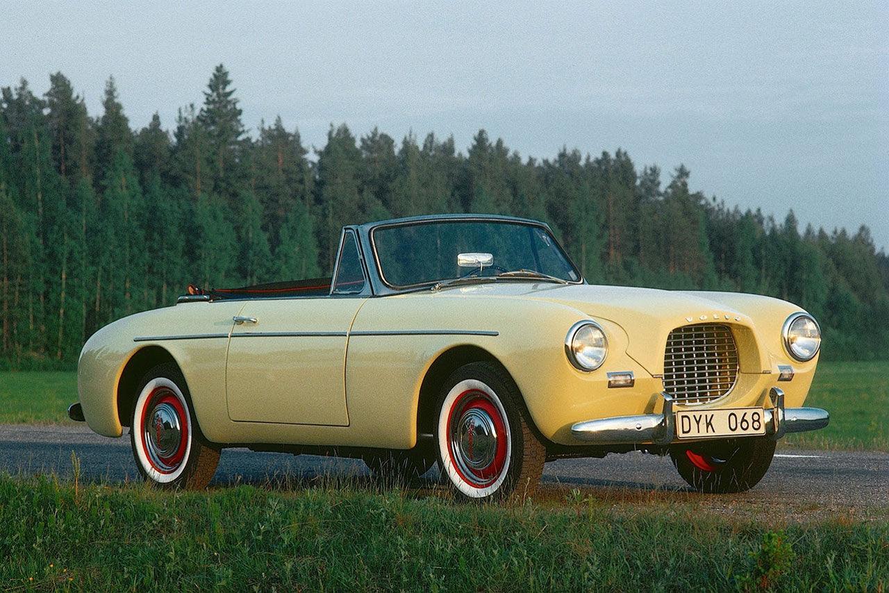 Volvos första sportbil fyller 60 år. Volvo Sport   Feber / Bil