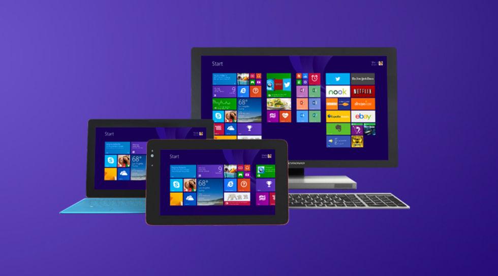 Tablet-tillverkare ska satsa på Windows 8.1 with Bing