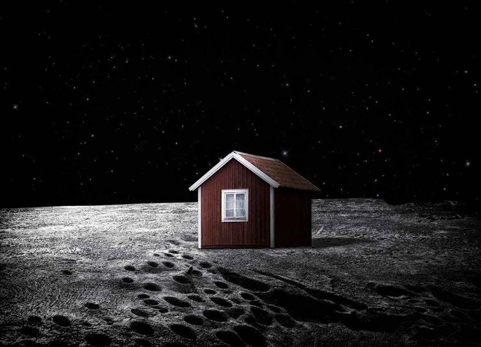 Svensk vill crowdfunda ett hus på månen