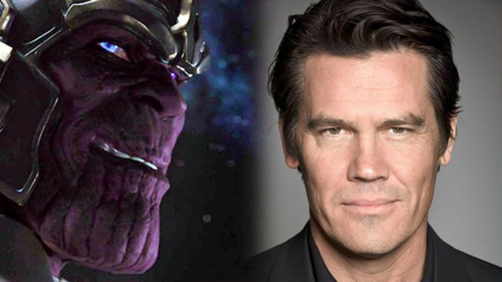 Josh brolin blir Thanos