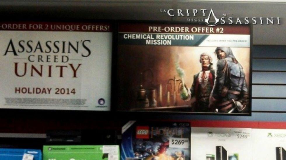 DLC från Assassin's Creed Unity läckt