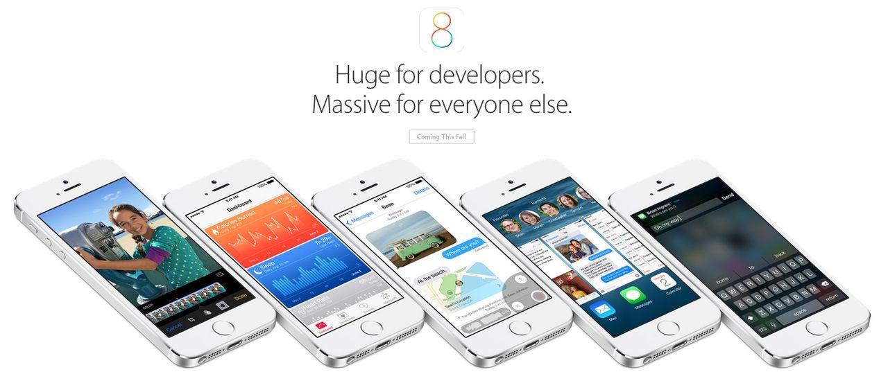 Apple presenterar iOS 8