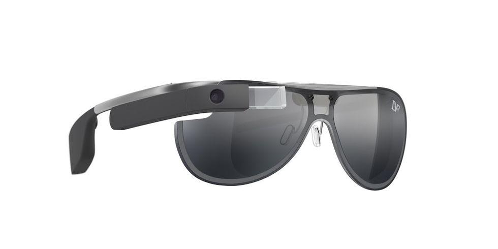 Ny design på Google Glass