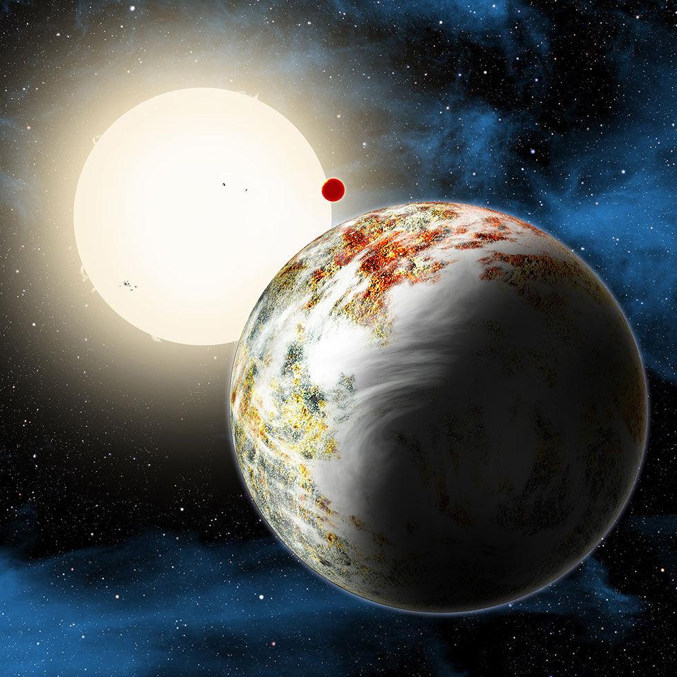 Jätteplanet som liknar jorden hittad