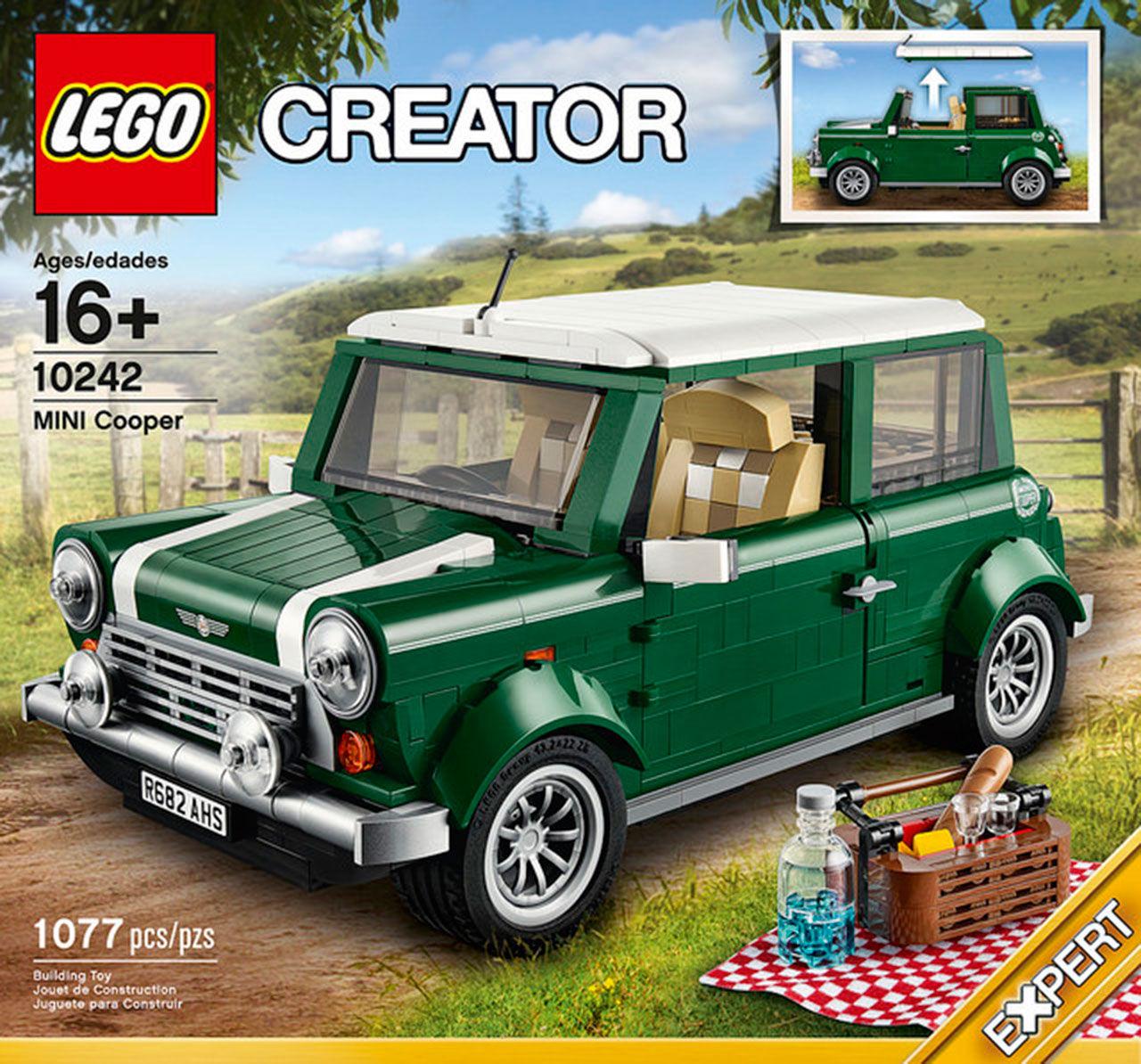 Lego presenterar Mini-modell