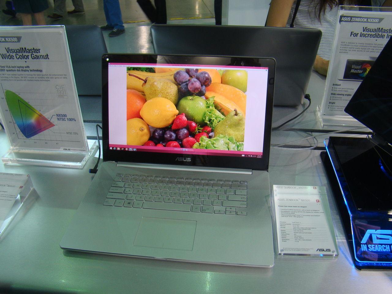 Asus lanserar Zenbook NX500