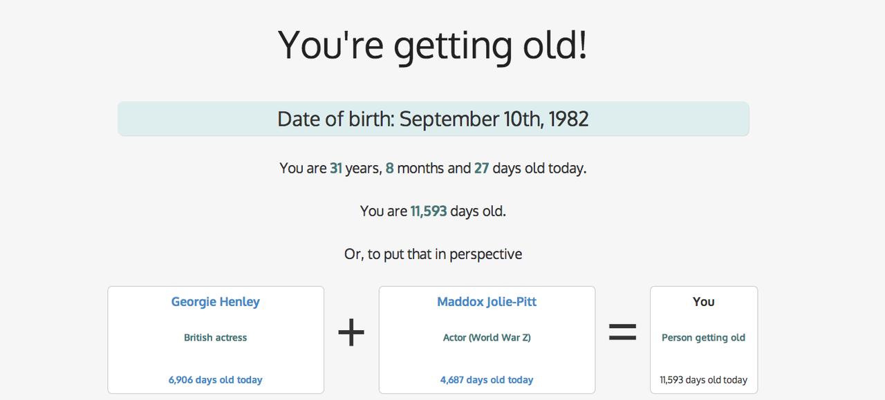 Dating jorden ålder